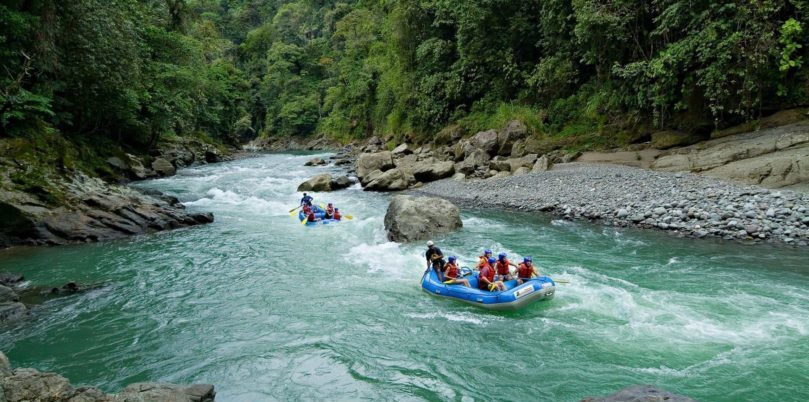 Costa Rica, Pacuare Lodge, Anreise im Raft