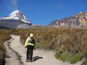 Ecuador, Südanden, Illinizas, Wanderer, Latin America Tours