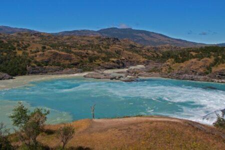 Chile, Carretera Austral, Zusammenfluss Rio Baker und Rio Neff, Latina America Tours